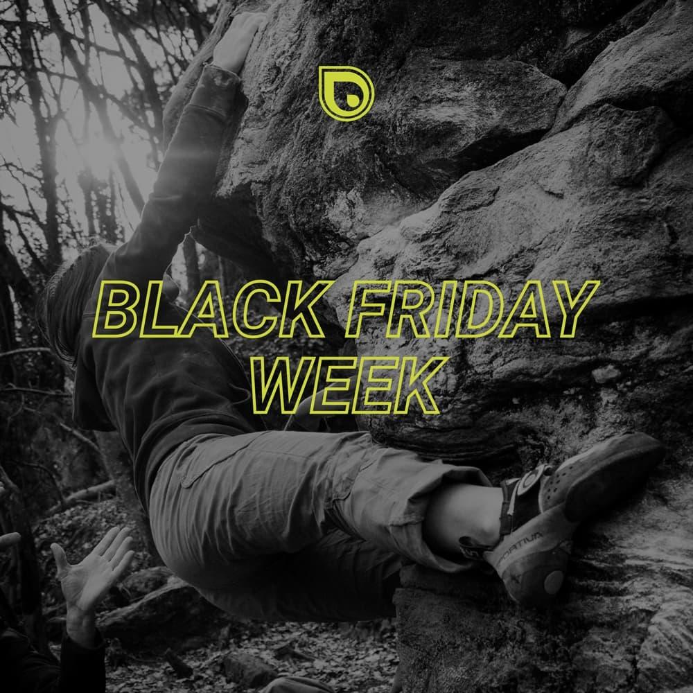Super affaires sur escalade pour le Black Friday Week!
